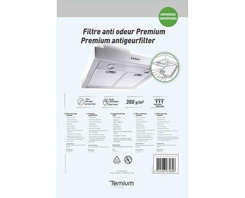 Filtre anti odeur Temium Premium