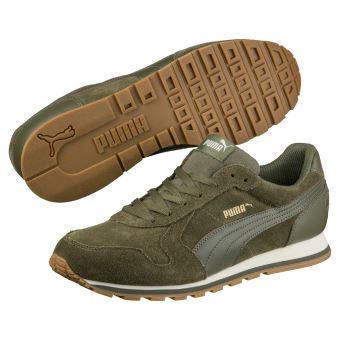 Chaussures Puma verte