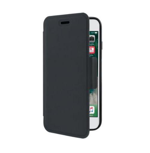 Coque de protection avec clapet folio The Kase Air Noir pour Apple iPhone 6 6s 7 8