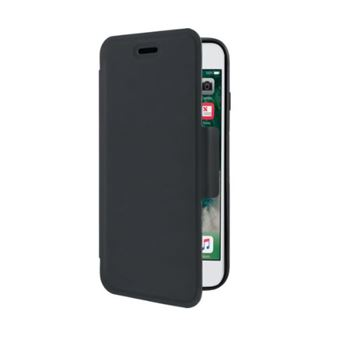 Coque de protection avec clapet folio The Kase Air Noir pour Apple iPhone 6 6s 7 8