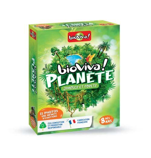 Jeu de société Bioviva Planète Jungles et forêts