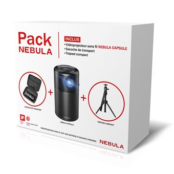 Nebula Capsule Projector Android + Tripod + Case