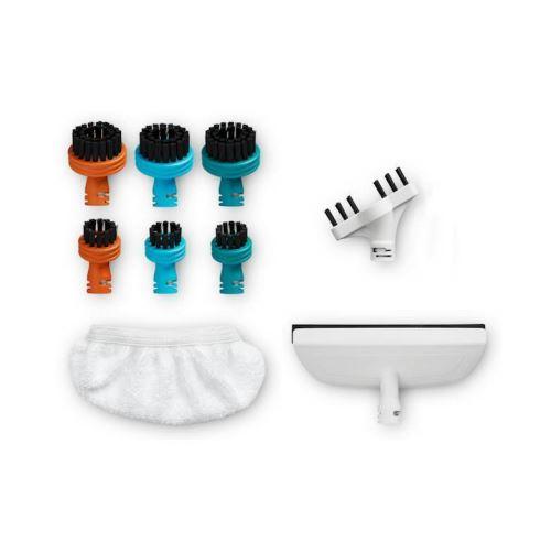 Kit accessoires Rowenta Brosses à dents joints de verre balai Vapeur Clean Multi ZR850003