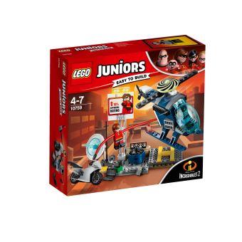 LEGO® Juniors The Incredibles II 10759 La poursuite sur les toits d'Elastigirl