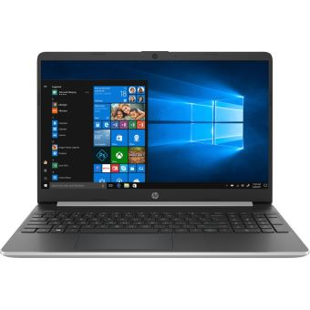 """PC Portable HP 15s-fq1007nf 15.6"""" Intel Core i7 8 Go RAM 512 Go SSD Argent"""
