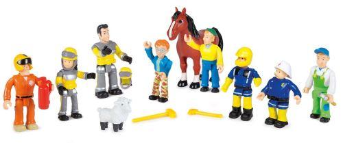 Coffret Smoby 10 Figurines Sam Le Pompier