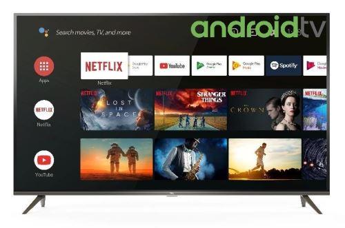 "TV TCL 50EP640 4K UHD Ultra Slim HDR Android Smart TV 50"""""""" Noir - Téléviseur LCD 44"" à 55""."