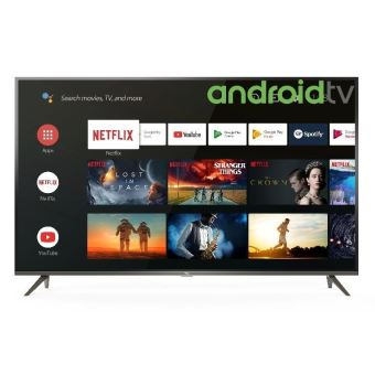 """TV TCL 50EP640 4K UHD Ultra Slim HDR Android Smart TV 50"""" Noir"""