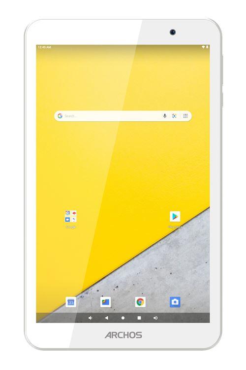 """Tablette tactile Archos T80 WiFi 8"""" 16 Go Blanc et Gris"""