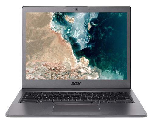 """Chromebook Acer CB713-1W-3810 13.5"""" Intel Core i3 8 Go RAM 32 Go eMMC Gris métallique"""