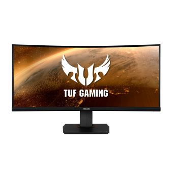 """ASUS TUF Gaming VG35VQ - LED-monitor - gebogen - 35"""" - 3440 x 1440 WQHD - VA - 300 cd/m² - 2500:1 - 1 ms - 2xHDMI, DisplayPort"""