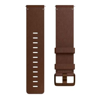 FITBIT ACC BAND LEATHER COGNAC S