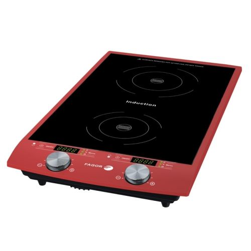 Plaque induction posable Fagor 1750 2900 W Rouge