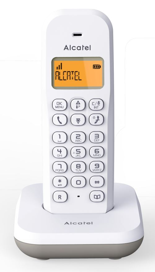 Telephone Fixe Alcatel E195 Blanc Telephone Sans Fil Achat Prix Fnac