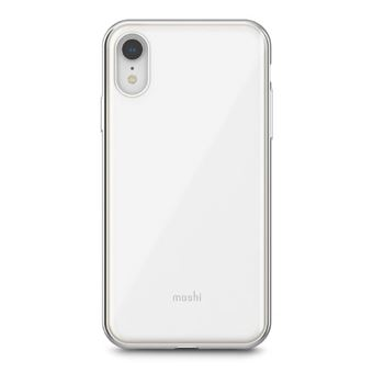 Coque fine et rigide Moshi iGlaze Blanc pour iPhone XR