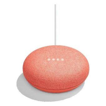 Google Home Mini Assistant Vocal Corail
