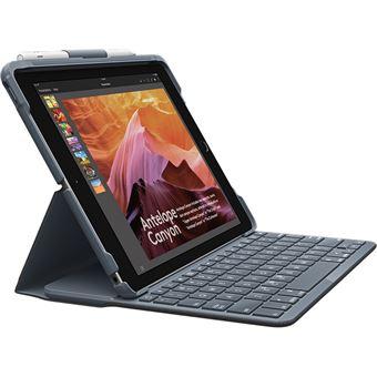 Slim Folio voor Ipad (5de en 6de generatie) met toetsenbord en Bluetooth inbegrepen