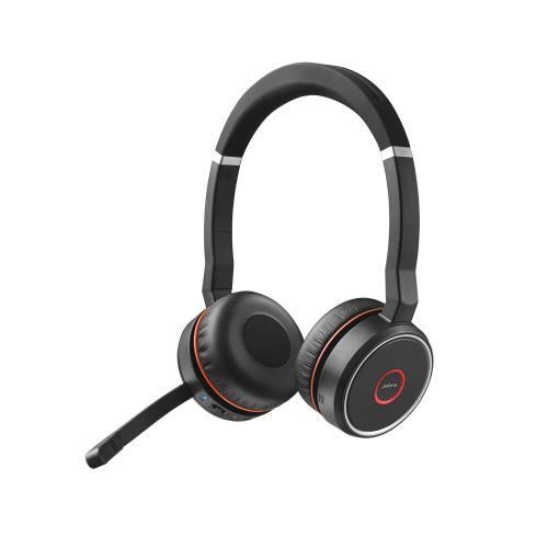 Micro-casque Bluetooth Jabra Evolve 75 Noir