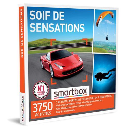 Coffret cadeau Smartbox Soif de sensations