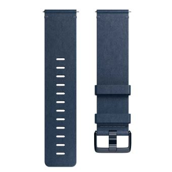 FITBIT ACC BAND LEATHER MIDNIGHT BLUE S