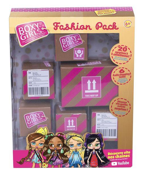 Pack de 6 boîtes Best of TV Boxy Girls Le Fashion Pack