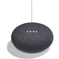 Google Home Mini Assistant Vocal Charbon Noir