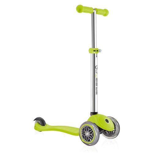 Trottinette enfant Globber Primo V2 Lime 3 roues Vert