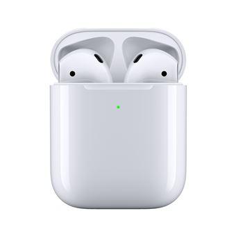 Ecouteurs sans fil Apple AirPods 2 avec boîtier de charge sans fil