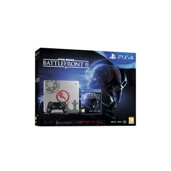 Pack console Sony PS4 Slim 1 To Edition limitée + Star Wars Battlefront II
