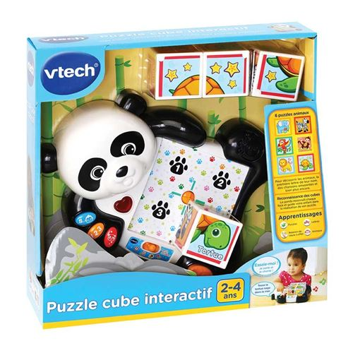 Puzzle Cube Interactif Vtech Baby