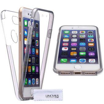 coque iphone 7 gris silicone