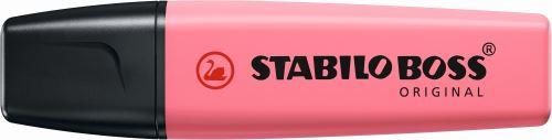Surligneur Stabilo Boss Pastel Rose