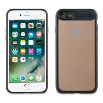 Coque Muvit Crystal Bump Noire pour iPhone 6 6s 7 8 SE 2020