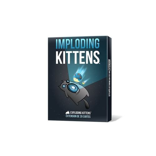 Jeu d'ambiance Asmodee Exploding kittens Imploding kittens extension