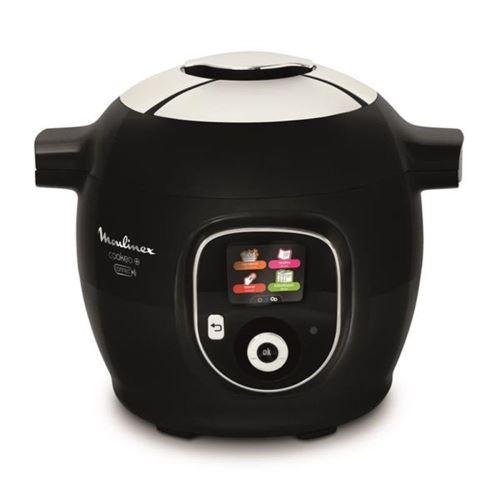 Multicuiseur intelligent Moulinex Cookeo+ Connect CE859800 avec balance et moule a gâteau 1600 W Noir