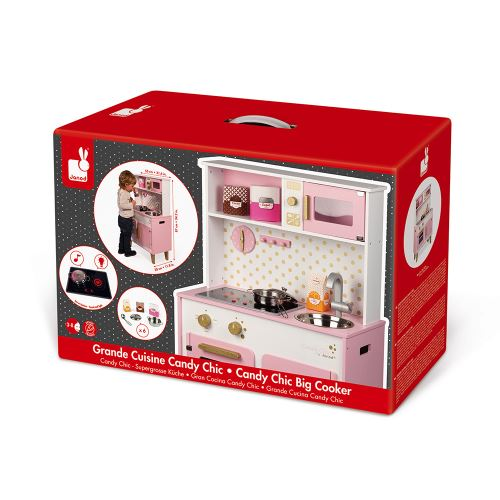 Playset Janod Grande Cuisine Candy Chic