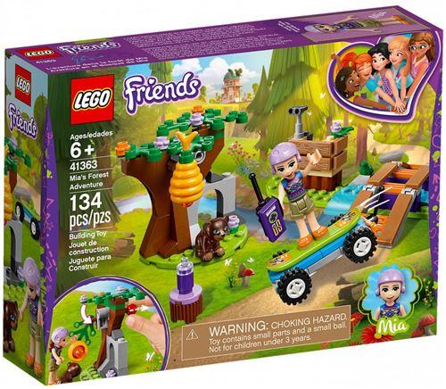 LEGO® Friends 41363 L'aventure dans la forêt de Mia