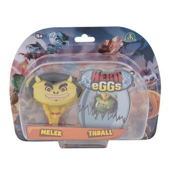 Figurines Hero egg Blister 2 Hero eggs Thrall et Melek 2