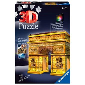 Puzzle Ravensburger 3D Arc de Triomphe Night