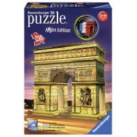 Puzzle Ravensburger 3D Arc de Triomphe Night