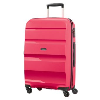 meilleure sélection 2d8f9 b8080 Valise spinner American Tourister Bon Air 66 cm Taille M 4 roues Rose