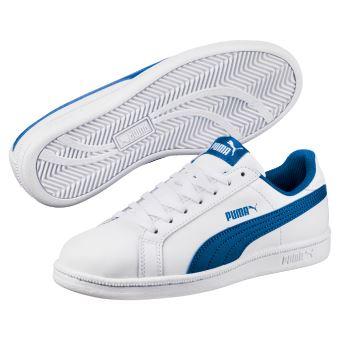 c4fa87c0c8d Chaussures Enfant Puma Smash Fun L Blanches et bleues Taille 36 ...