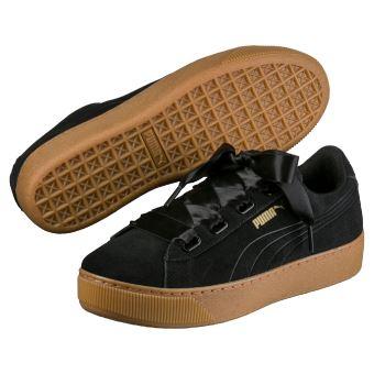 Chaussures Femme Puma Vikky Platform Ribbon Noires Taille 40 ... 8a43cfe8fce