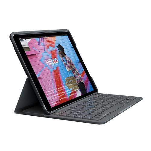 Etui clavier Logitech pour iPad 10.2 7ème génération Noir