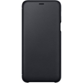 SAMSUNG A605 GALAXY A6 PLUS FLIP WALLET BLACK