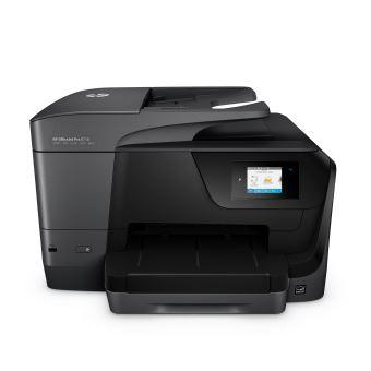 Imprimante HP OfficeJet Pro 8718 Multifonctions WiFi Noir