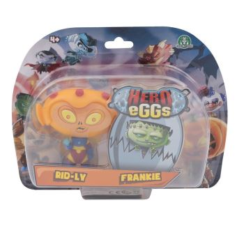 Figurines Hero Egg Blister 2 Hero eggs Franky et Rid Ly 2