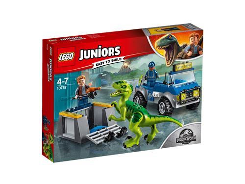 LEGO® Juniors Jurassic World 10757 Le camion de secours des raptors