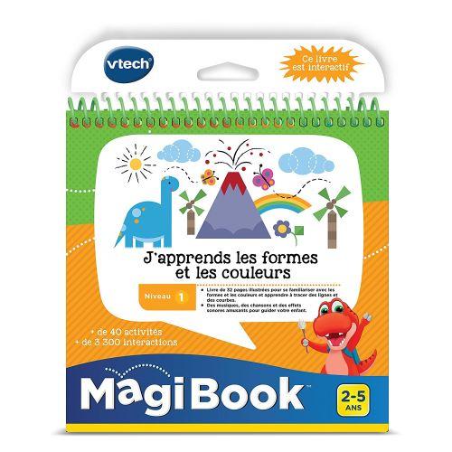 Livre éducatif VTech Magi Book J'apprends les formes et les couleurs