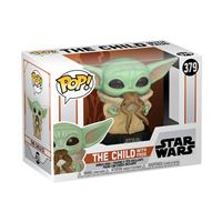 Figurine Funko Pop Star Wars The Mandalorian The Child with Frog
